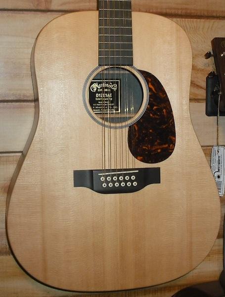 Martin D12X1AE 12-String Acoustic-Electric Guitar w/Fishman Sonitone