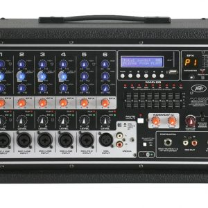 Peavey PVi 6500 Powered Mixer 400 Watt, 6 Channel