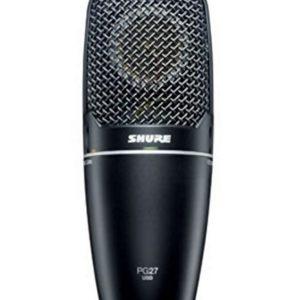 Shure PG27USB Cardioid Condenser Side Address Multi Purpose Microphone