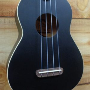 Fender® Venice Soprano Acoustic Ukulele Black