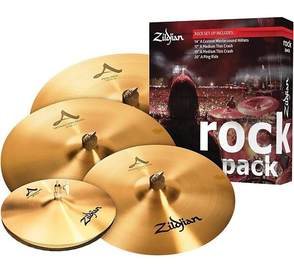 Zildjian A0801R A Series Rock Cymbal Set